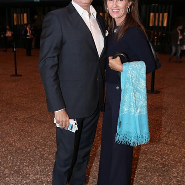 Enrique Azuara y María Ampudia