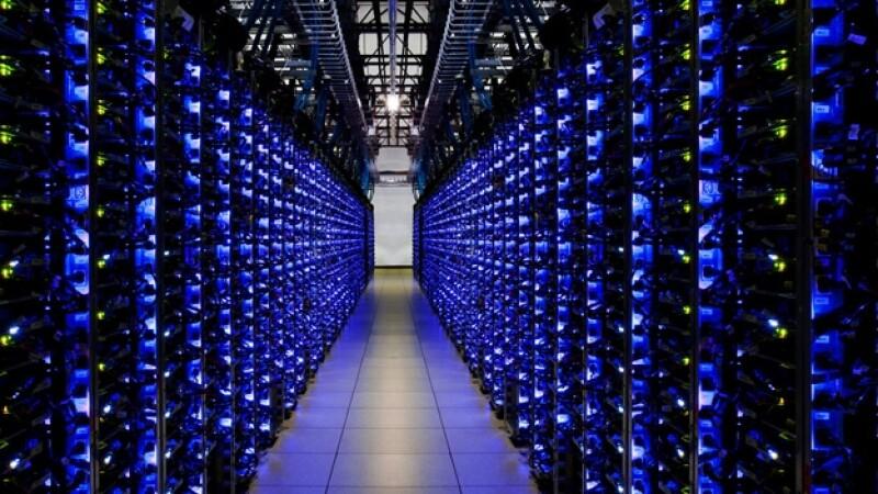 servidores Google centro de datos