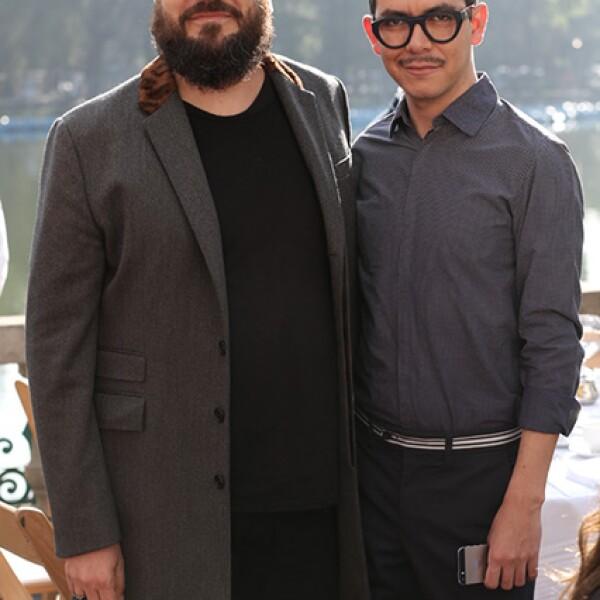 Juan Carlos Campos y Manolo Caro
