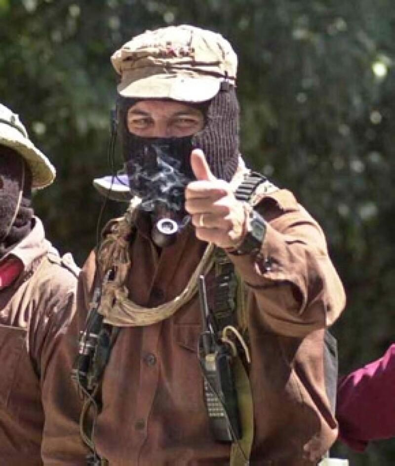 En 1994, el Subcomandante Marcos fue la voz de los Zapatistas.