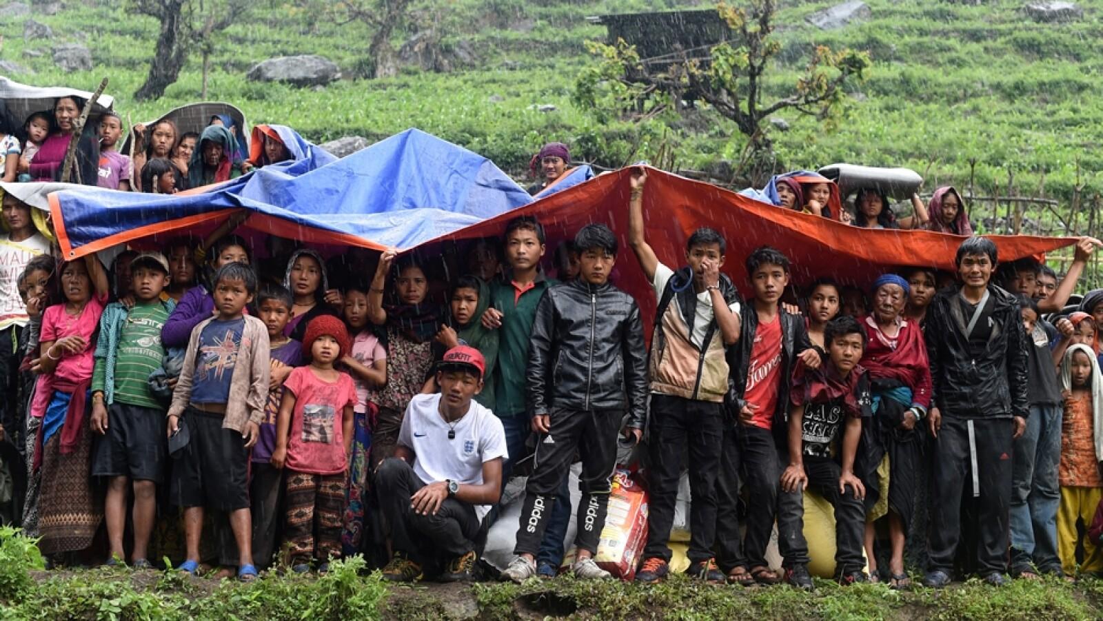 Gorkha refugio
