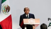 Mexico's President Andres Manuel Lopez Obrador delivers his second state of the union at National Palace in Mexico City