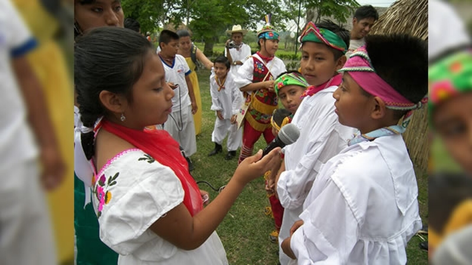 niños totonacas