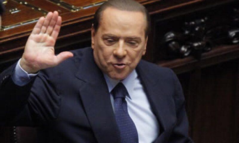 Berlusconi entregará una carta de 15 páginas con los detalles de los 54,000 millones de euros (75,000 millones de dólares) en medidas de austeridad. (Foto: AP)