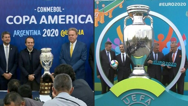 La Copa América y la Eurocopa se aplazan a 2021.
