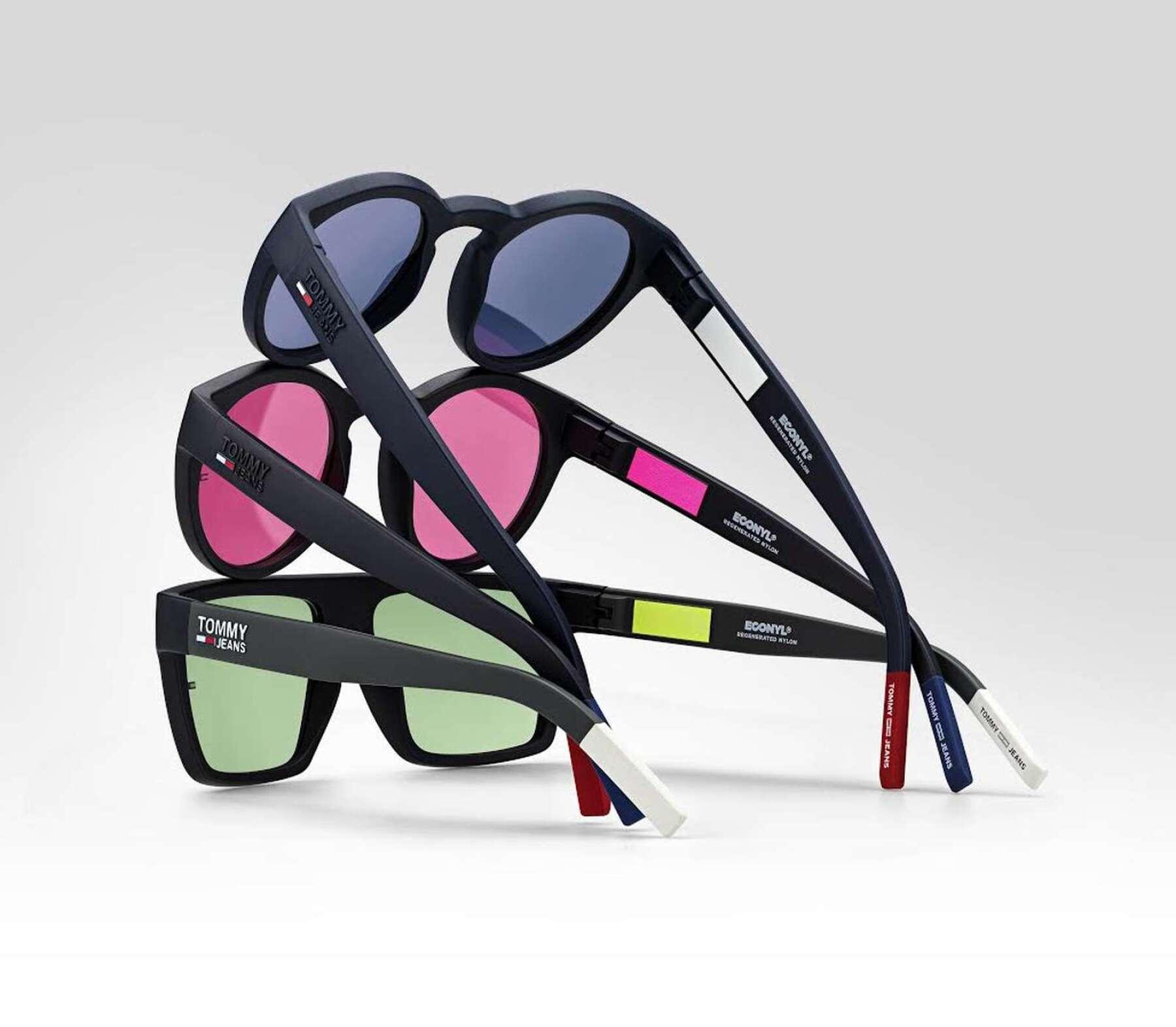 Safilo y Tommy Jeans hacen los primeros lentes con econyl.
