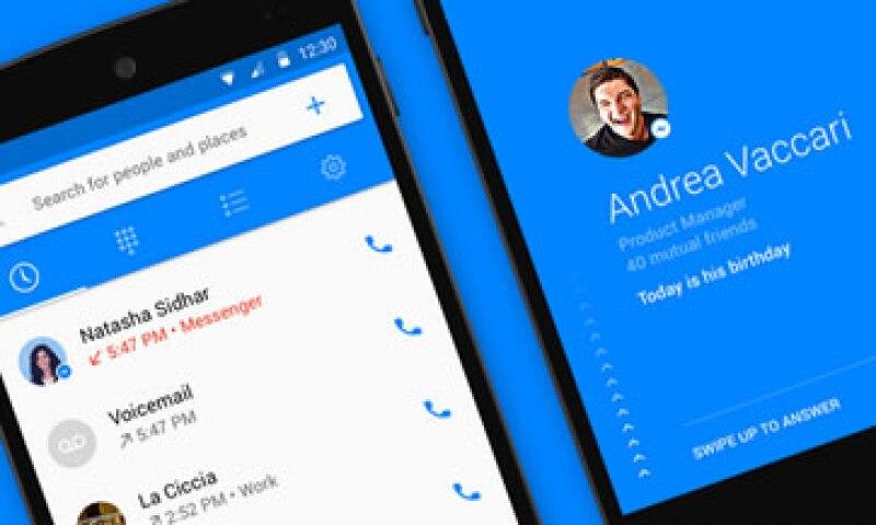 La aplicación permite bloquear las llamadas no deseadas. (Foto: Tomada de newsroom.fb.com )