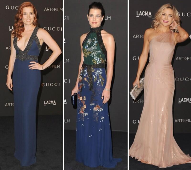 Los looks de Amy Adams, Carlota Casiraghi y Kate Hudson resaltaron como los mejores de la noche.