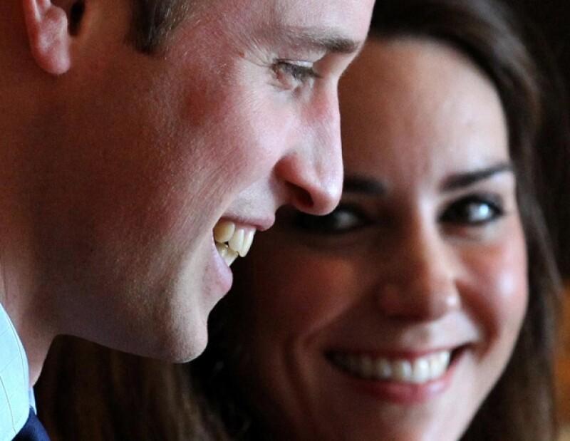 Guillermo y Kate de Inglaterra.