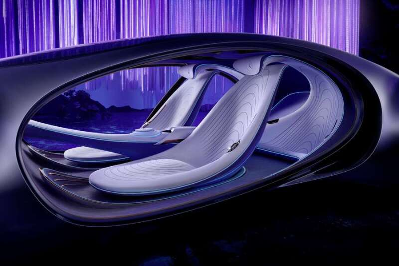 mercedes benz vision avatr