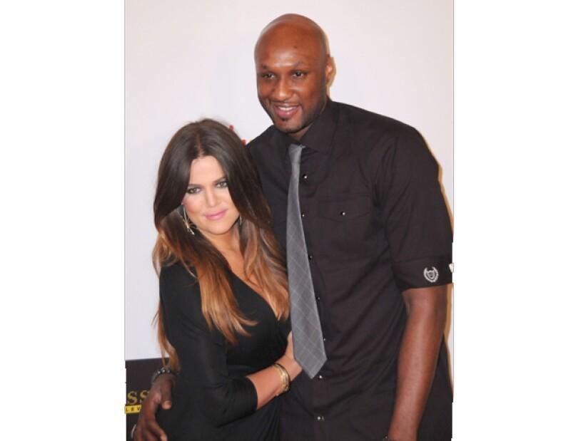 Aunque Khloé no ha querido comentar nada acerca de estos problemas, se sabe que las adicciones de Lamar ha afectado su matrimonio.