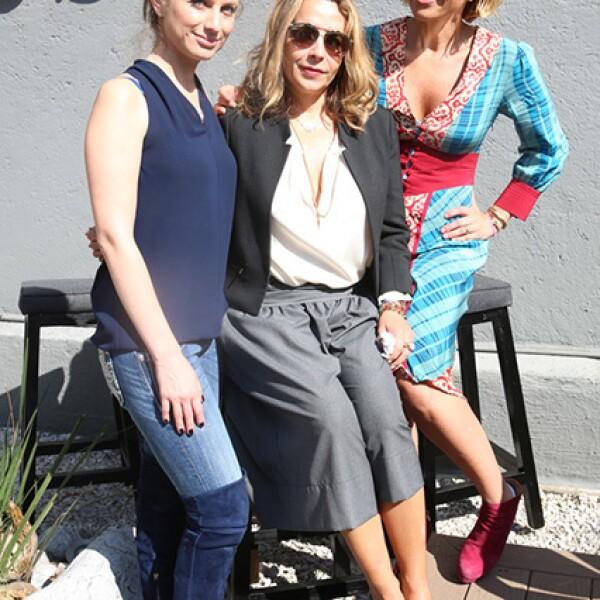 Maricarmen López,Luisa Serna y Beatriz Pasquel