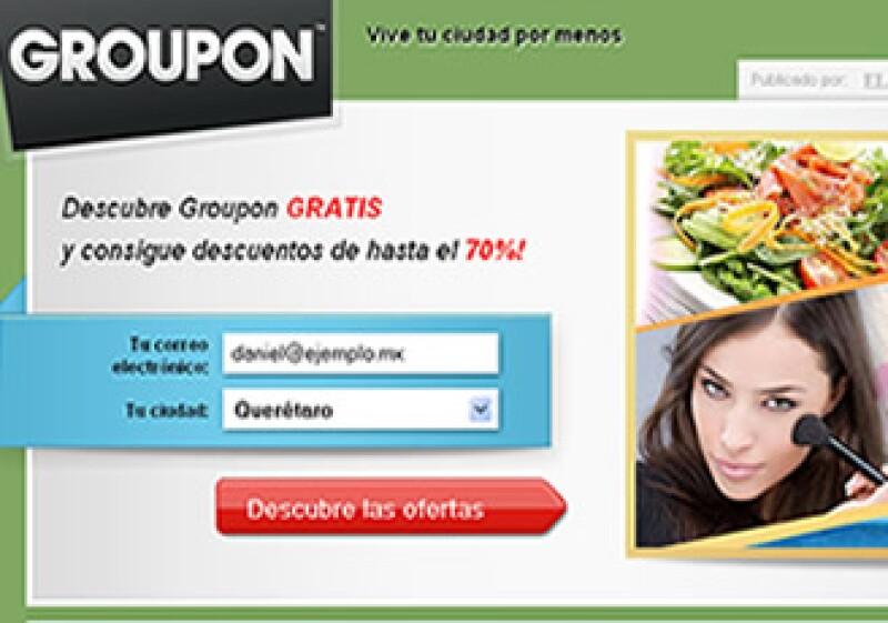 Groupon es l gigante estadounidense de compras colectivas por Internet.  (Foto: Reuters)