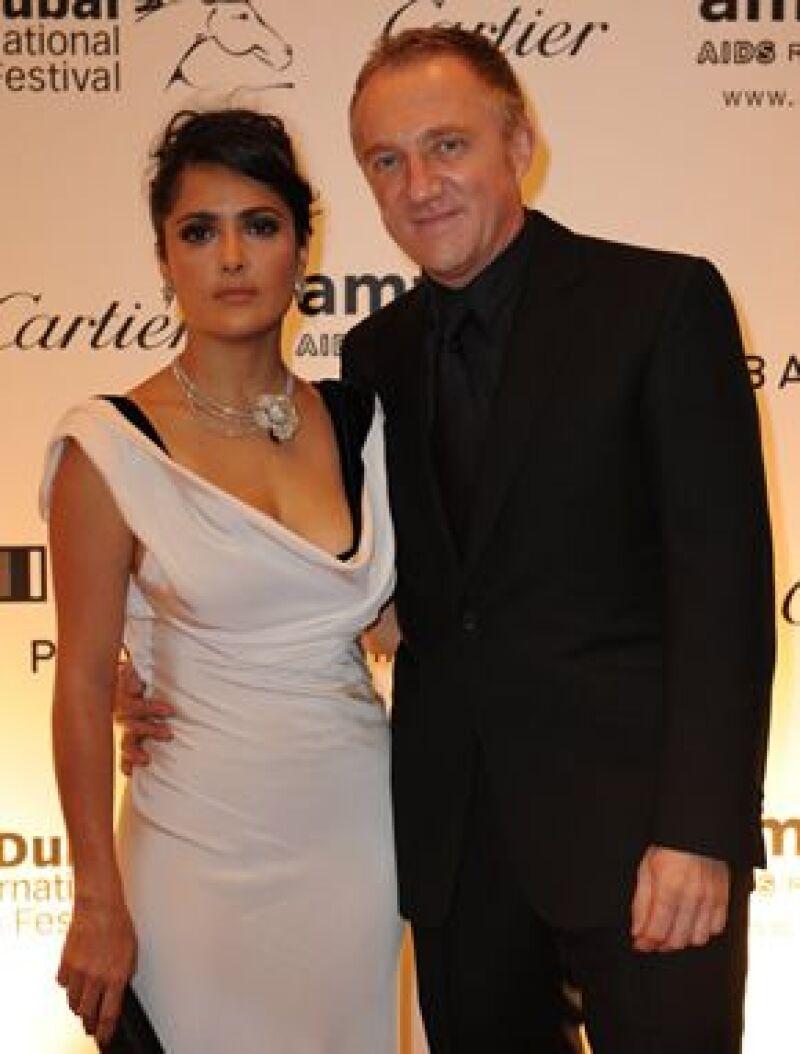La veracruzana y el empresario francés se casaron este 14 de febrero en Paris, según informó la revista parisina Le Point.