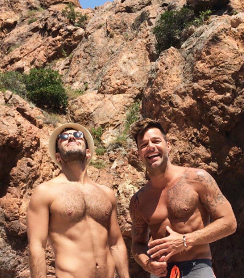 Ricky y Jwan presumen su cuerpazo en la riviera francesa.
