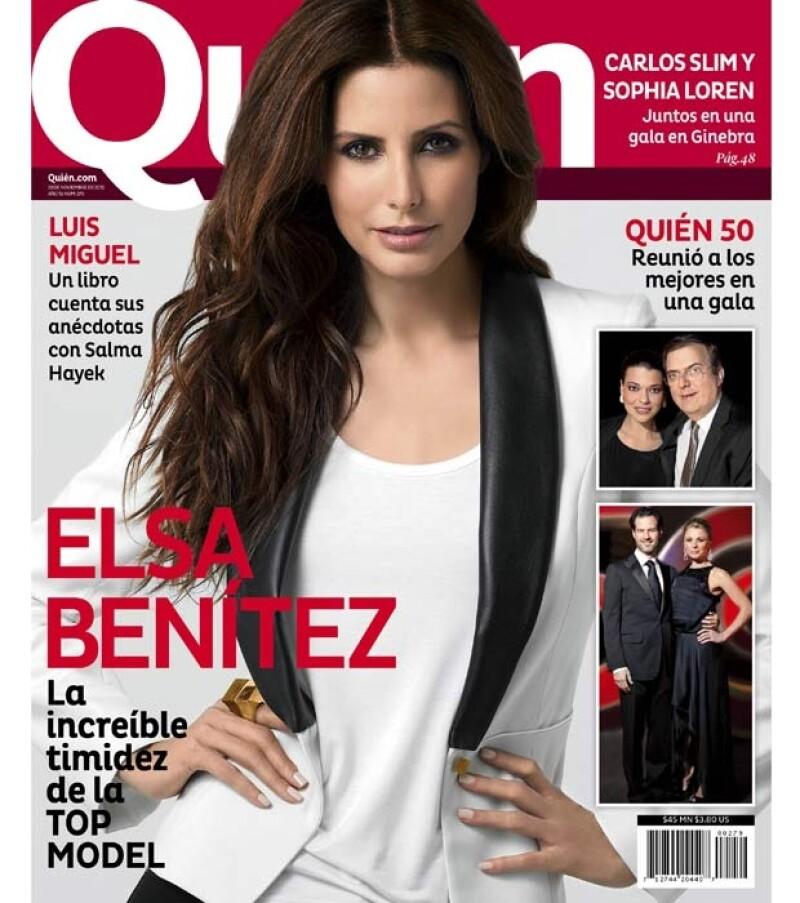 La top model mexicana concedió una entrevista y posó para la revista Quién, en donde pudimos conocer más a fondo a la mujer de carne y hueso.