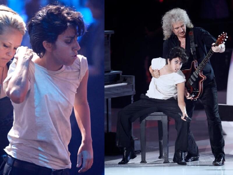 La cantante sorprendió con su transformación.