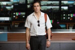 Jake Gyllenhaal como Louis Bloom en Nightcrawler (2014)