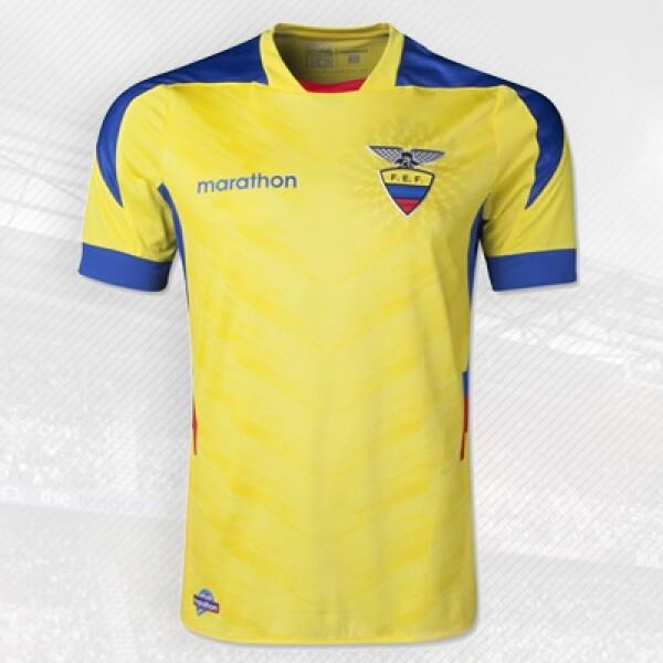 La selección sudamericana viste con la ecuatoriana Marathon, fundada en la década de los 80.