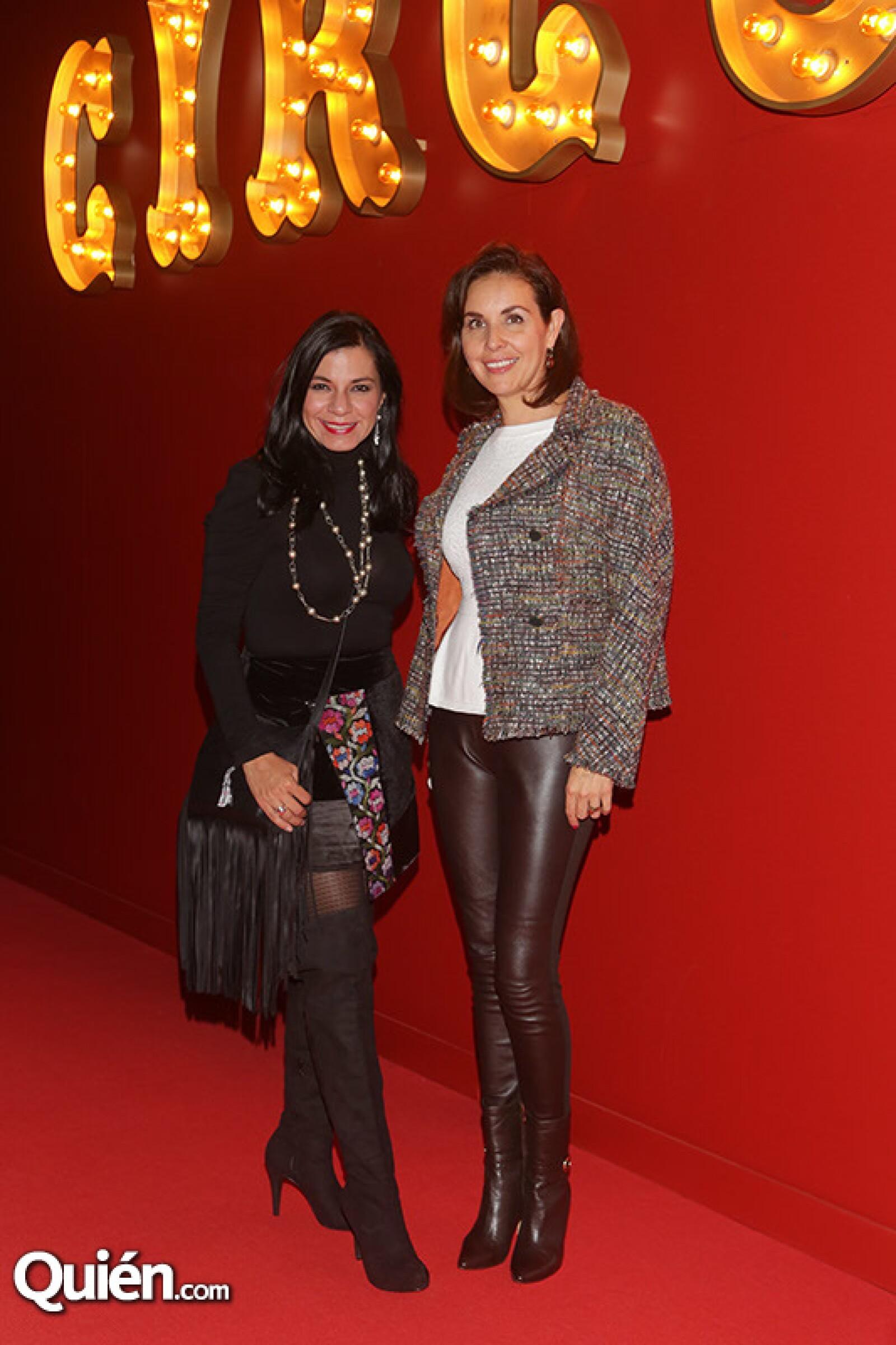 Graciela Montaño y Lizbeth Esparza