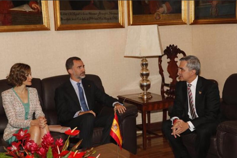 La reunión se llevó a cabo en Palacio Nacional.