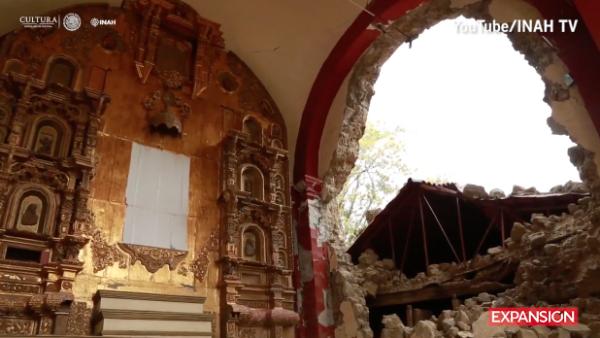 La labor del INAH tras los sismos de septiembre en México