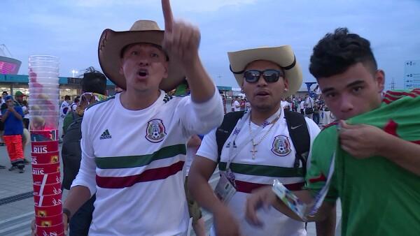 Los mexicanos alistan el camino a octavos en el Mundial de Rusia 2018