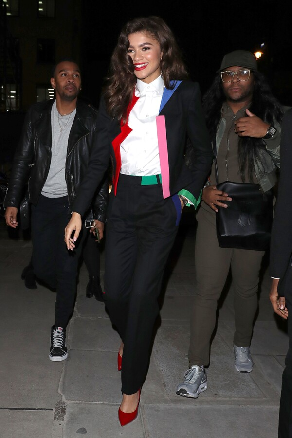 Zendaya out and about, London, UK - 05 Dec 2017