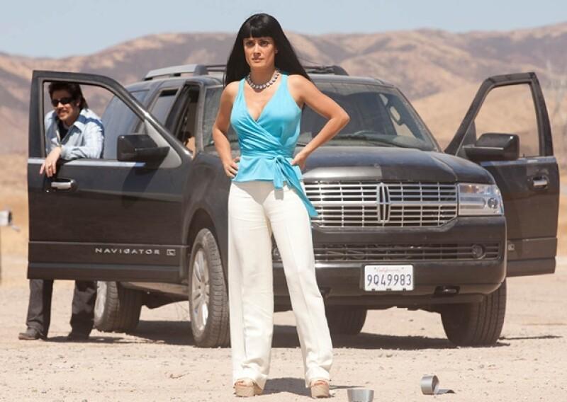 Aunque últimamente había declarado que se dedicaría al cine de comedia, se anunció que la actriz mexicana participará en un nuevo filme cuyo tema principal será el narcotráfico.