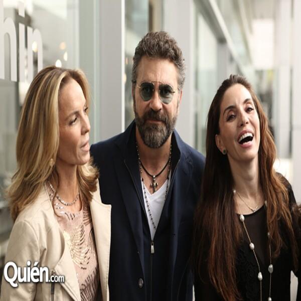 Paola García, Manuel Mijares y Alejandra Díaz
