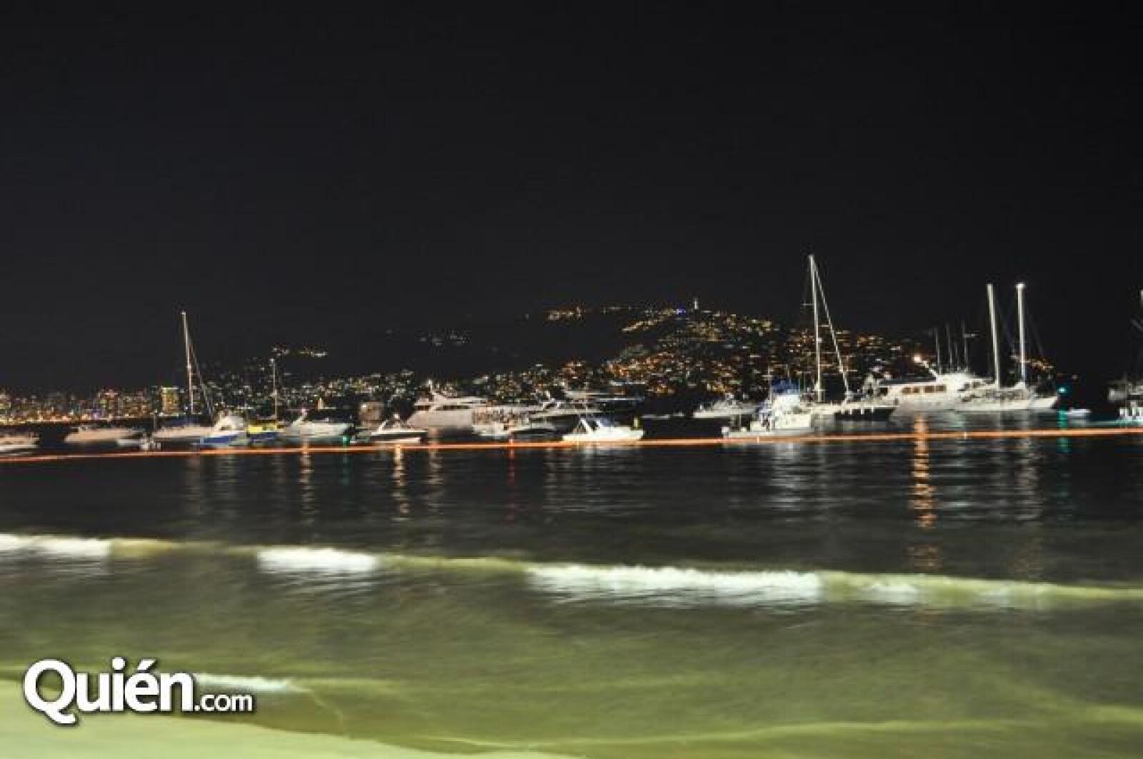 Playa Tamarindos fue la zona donde se realizó el concierto.