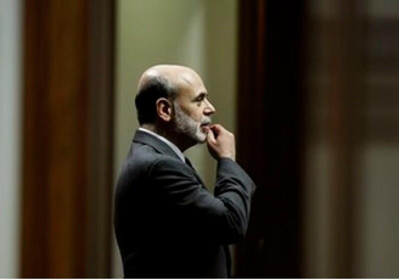 Ben Bernanke, presidente de la Reserva Federal, comparecía ante la Cámara de Representantes de EU. (Foto: AP)