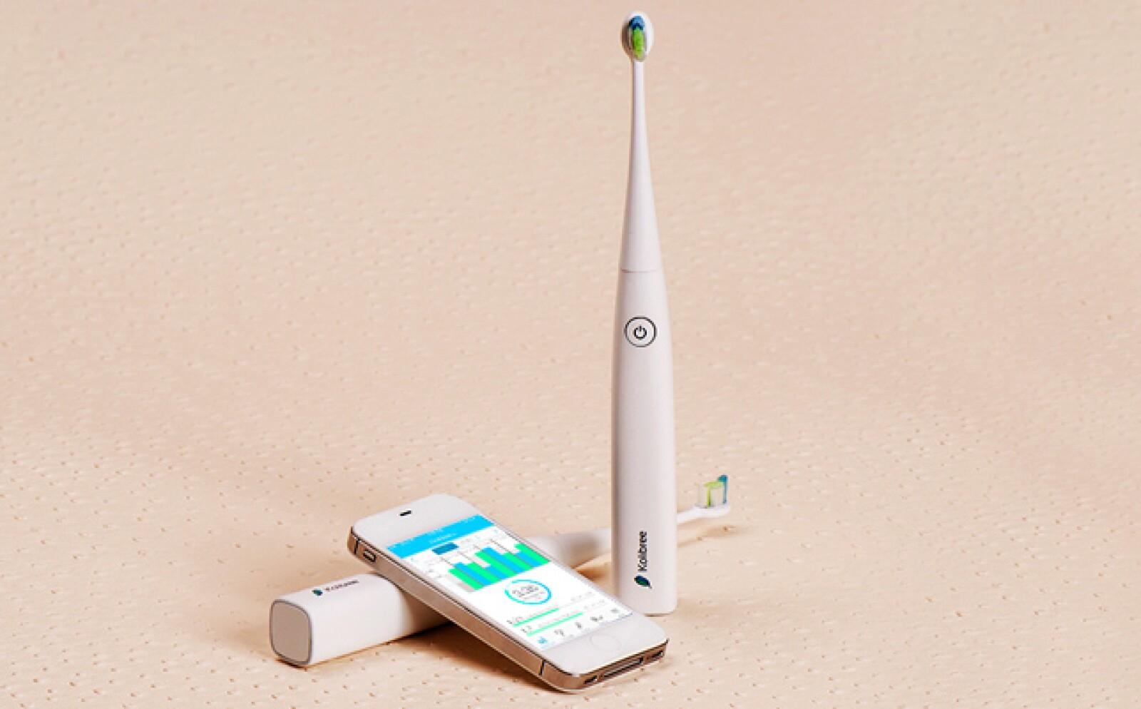 El cepillo Kolibree cuenta con Bluetooth y te ofrece información precisa de tu higiene personal. Podrás llevar estadísticas de tu cepillado para mejorar tu higiene bucal.