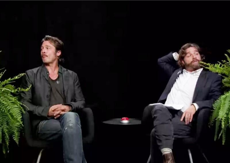 Para el canal de comedia por internet 'Funny or Die', Zach Galifianakis, de 'The Hangover' entrevistó al actor en el programa 'Between two Ferns&#39 haciéndole las preguntas más embarazosas.