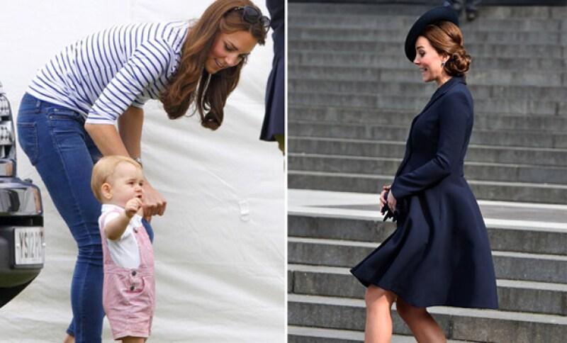 La duquesa de Cambridge es una de las madres de la realeza más queridas en toda Inglaterra, además de ser muy dulce con sus bebés.