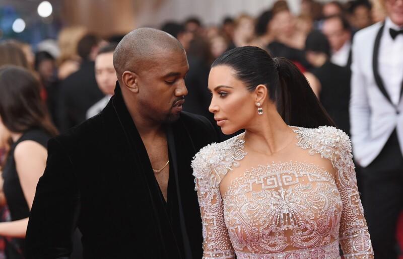 Kim Kardashia y Kanye West - Destacada
