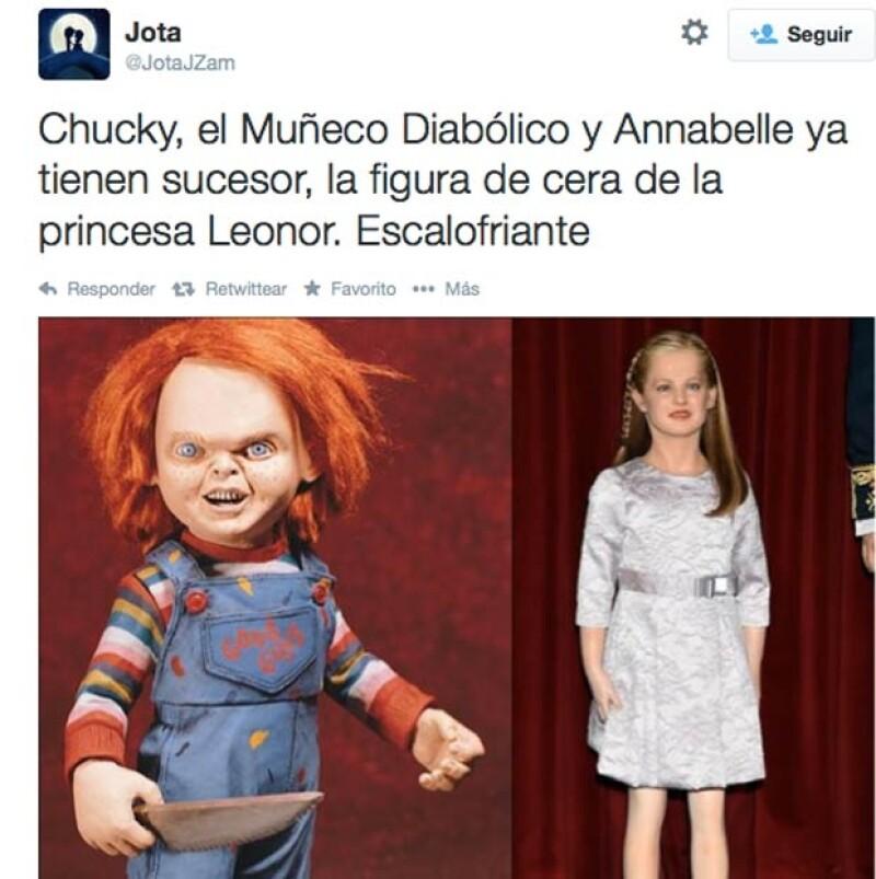 Ya que de muñecos diabólicos hablamos, Chucky no se podía quedar atrás.