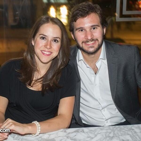 Luz Tena y Pablo Medinaveitia