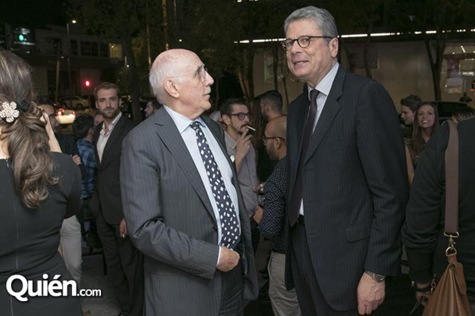 Ferruccio Tinghi y Alessandro Busacca