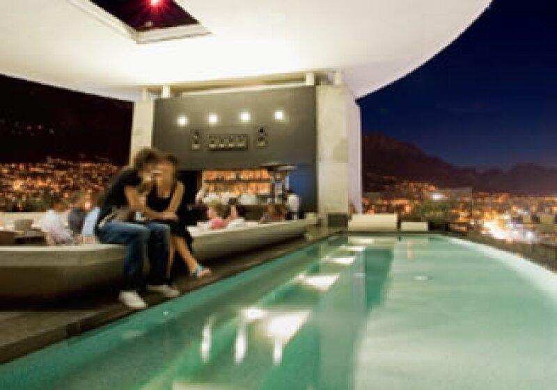 En el hotel Habita, en Monterrey predomina el estilo minimalista. (Foto: Patricia Madrigal)