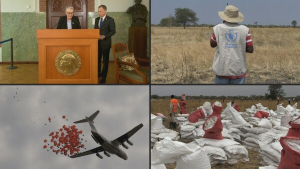 El premio Nobel de la Paz es para el Programa Mundial de Alimentos de la ONU