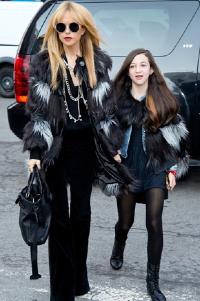 Rachel también invitó a su sobrina Sophie.