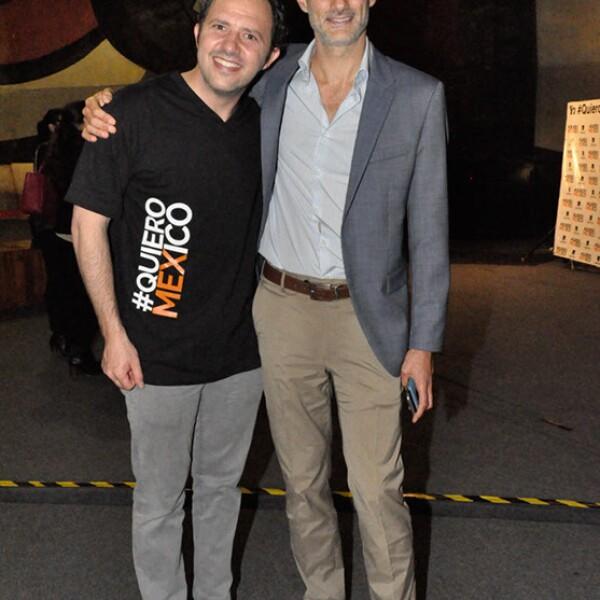 Eduardo Gorospe y Dario Okrent