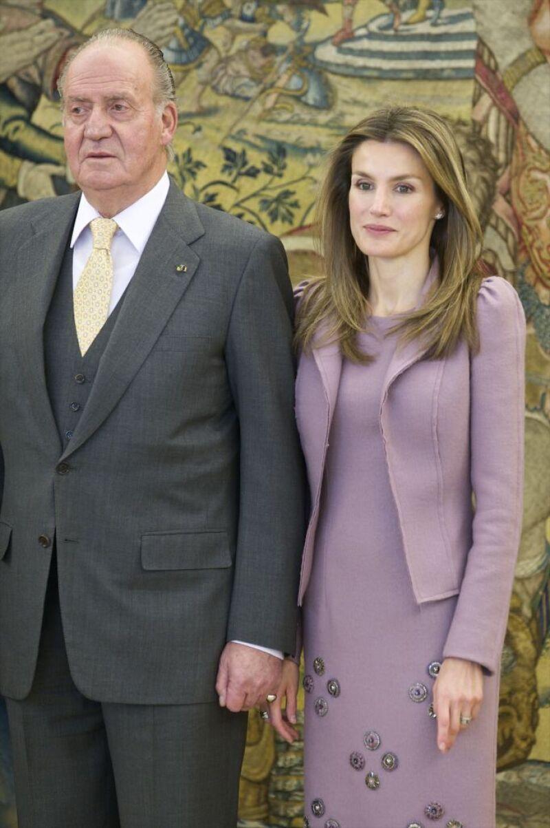 Rey Juan Carlos y Letizia