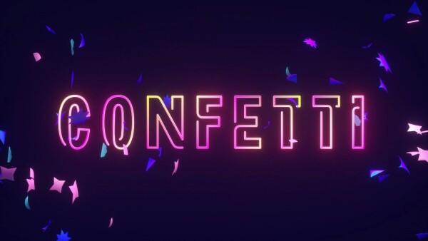 Confetti en Facebook