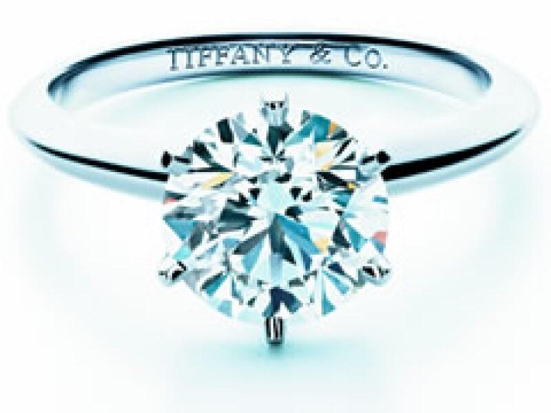 El tradicional corte brillante de Tiffany & Co. es clásico y no pasa de moda. (Foto: Cortesía)