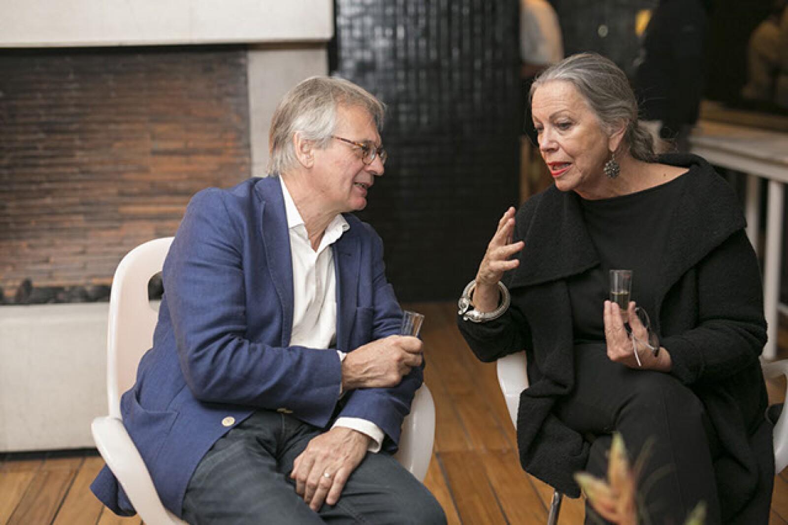 Pierre Antoine Baubion y Jessica Moyal