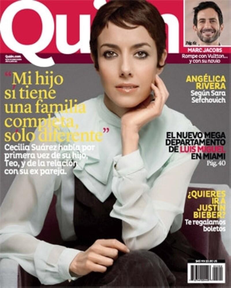 La actriz cuenta en exclusiva cómo cambió su vida cuando se convirtió en mamá. La entrevista y demás reportajes podrás disfrutarlos en la nueva edición de la revista Quién.
