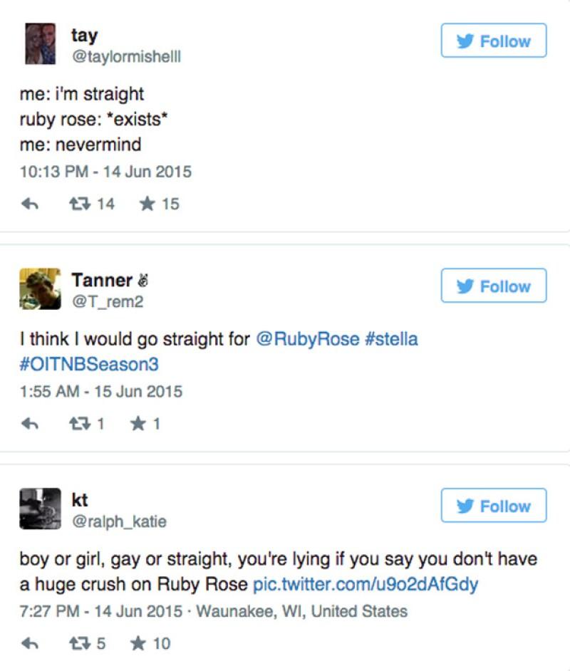 Algunos de los comentarios que han circulado por Internet en el que las mujeres dejan de lado sus preferencias sexuales.