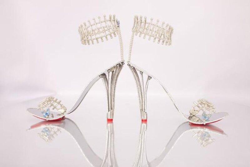 Los high heels que utilizará Beyoncé tienen un costo de más de 300 mil dólares.